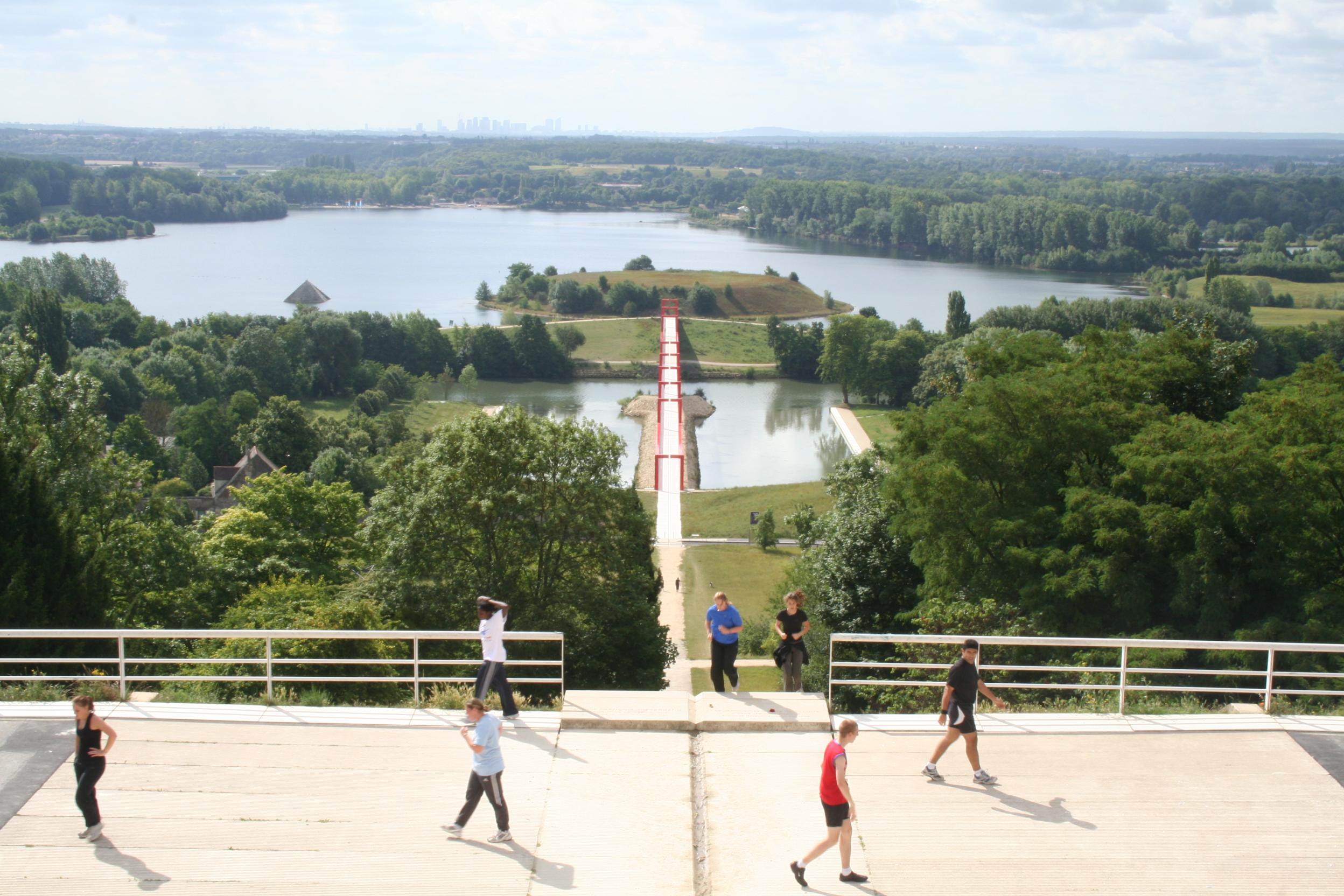 Base de Loisirs, Cergy-Pontoise (foto: Ivan Nio)