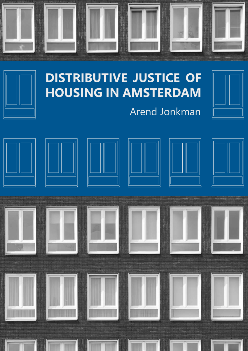 Distributive justice of housing in Amsterdam